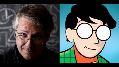 Image of famed author and comics artist, Scott McCloud.