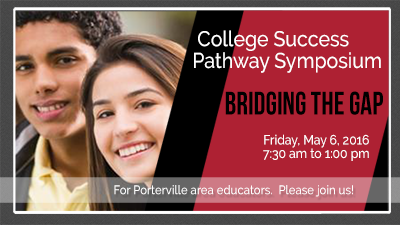 College Success Pathway Symposium