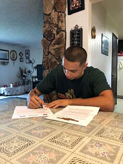 Carlos Angel Signing LOI