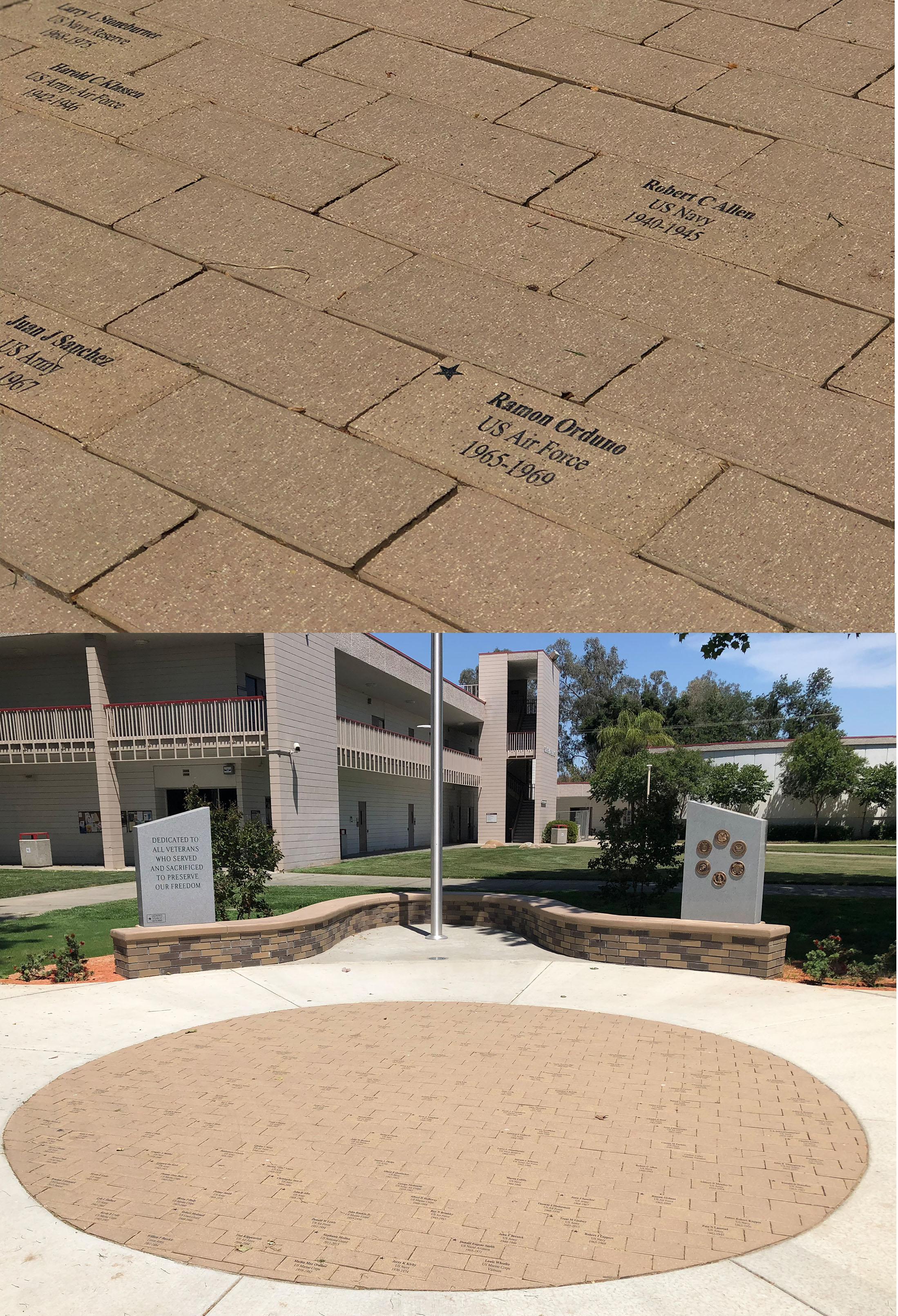 Veterans Bricks